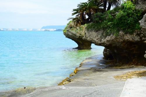 宙SORA風水-沖縄-?浜比嘉島「アマミチューの墓」