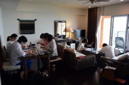 宙SORA風水-沖縄3級6期生-?授業風景 (1024x683)