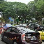 シンガポール風水ツアー? 交通渋滞