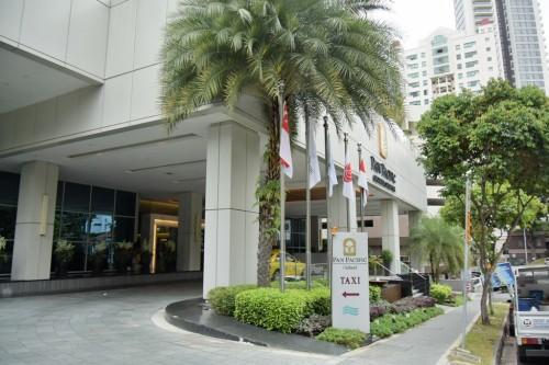 シンガポール風水ツアー53 パンパシフィックホテル
