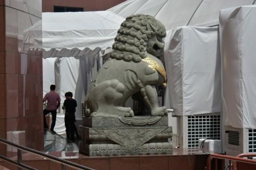 シンガポール風水ツアー? 義安城(高島屋)の獅子