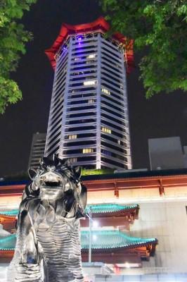 シンガポール風水ツアー59 マリオットホテル